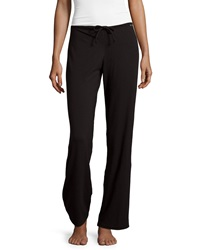 La Perla Wide Leg Drawstring Pants Black