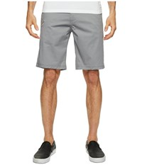 Publish Kamron Twill Shorts Grey Men's Shorts Gray