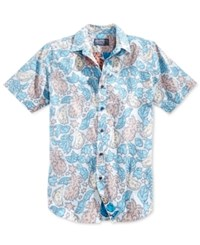 American Rag Men's Tropical Print Short Sleeve Shirt Only At Macy's Croquis