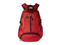 Victorinox Vx Sport Scout Laptop Backpack Red Black Logo Backpack Bags