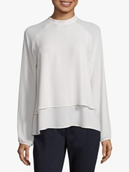 Betty Barclay Layered Blouse Off White