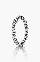 Pandora Design 'Forever Love' Band Ring Silver
