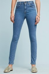 Anthropologie Levi's 721 High Rise Skinny Jeans Denim Light