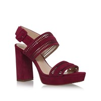 Vince Camuto Jazelle High Heel Sandals Red