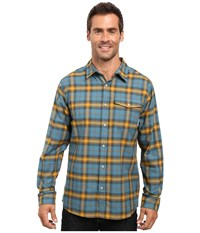 Mountain Hardwear Drummond Long Sleeve Shirt Cloudburst Men's Long Sleeve Button Up Gray