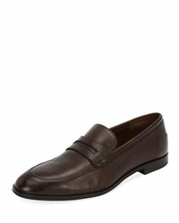Bally Webb Leather Penny Loafer Brown