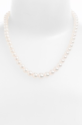 Mikimoto Graduated Akoya Cultured Pearl Necklace Akoya Pearl