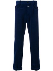 Closed Corduroy Style Trousers Blue
