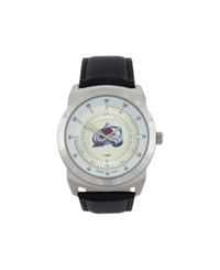 Game Time Colorado Avalanche Vintage Watch Black Silver