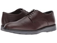 Z Zegna Hybrid Shark Derby Chocolate Men's Dress Flat Shoes Brown