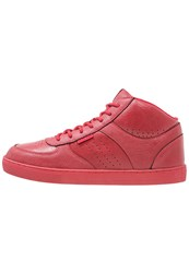 Jack And Jones Jfwdunc Hightop Trainers Barbados Cherry Red