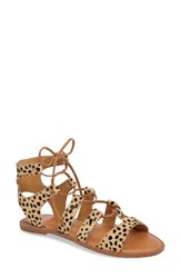Dolce Vita Women's 'Jasmyn' Ghillie Sandal Leopard Leather
