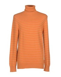 Dries Van Noten Turtlenecks Orange