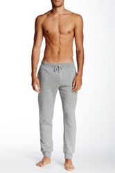 Majestic Ribbed Fleece Lined Soft Pant Gray