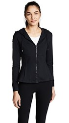 Cushnie Et Ochs Aurelia Hooded Zip Up Jacket Black