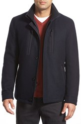 Men's Sanyo 'Hill 28' Car Coat Midnight