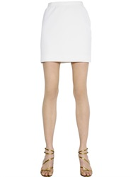 Lanvin Stretch Techno Gabardine Mini Skirt