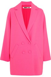 Mcq By Alexander Mcqueen Crepe Coat Bright Pink
