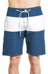 Trunks Surf And Swim Co. Men's Color Block Stellar White
