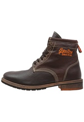 Superdry Winter Boots Brown