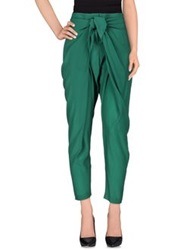 Michelle Windheuser Casual Pants Green