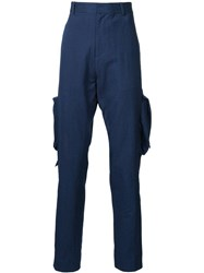 Lou Dalton Straight Fit '2 Pocket Carpenter' Trousers Blue