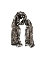 Daniele Alessandrini Homme Oblong Scarves Light Grey