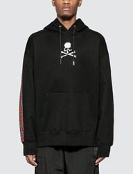 Mastermind World Skull Logo Print Hoodie With Back Panel Black