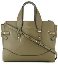Marc Jacobs Small The Rivet Tote Bag Green