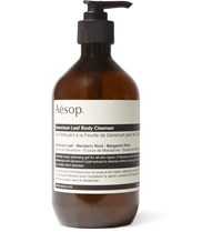 Aesop Geranium Leaf Body Cleanser 500Ml Green