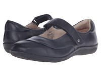 Revere Amalfi Dark Navy Women's Flat Shoes