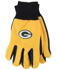 Forever Collectibles Green Bay Packers Palm Gloves