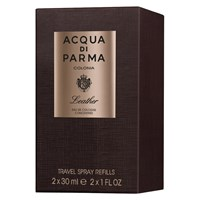 Acqua Di Parma Colonia Leather Eau De Cologne Concentree Travel Refill Spray 2 X 30Ml