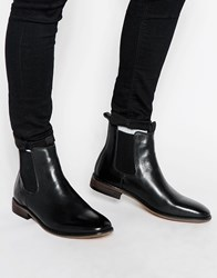 Bellfield Leather Chelsea Boots Black