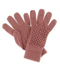 Bottega Veneta Wool Gloves Purple
