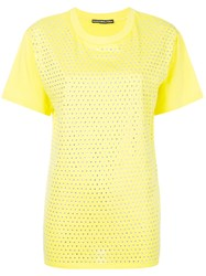 Marco Bologna Diamonds T Shirt Yellow And Orange