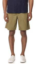 Our Legacy Army Shorts Olive