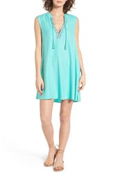 Roxy Women's Magic Hour Tunic Dress Pool Blue