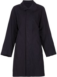 Arts And Science Collared Short Coat Blue