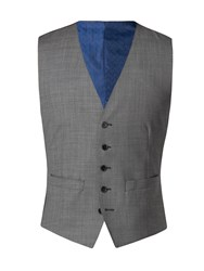 Alexandre Of England Men's Windsor Grey Sharksin Vest Grey