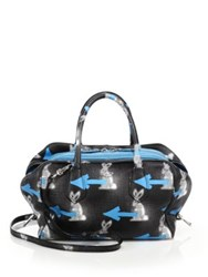 Prada Rabbit Print Leather Inside Bag
