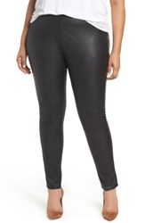 Glamorous Plus Size Women's Faux Leather Skinny Pants