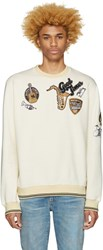 Dolce And Gabbana Ivory Good Times Pullover