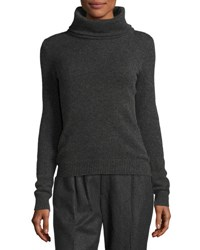 Ralph Lauren Cashmere Turtleneck Sweater Charcoal