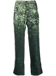 F.R.S For Restless Sleepers Printed Trousers Green