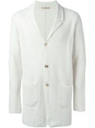 Nuur Buttoned Cardigan White