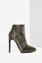 Nasty Gal Gauntlet Patent Leather Bootie