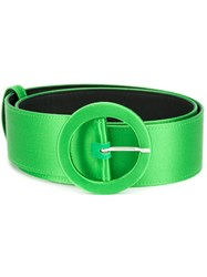 Attico Rounded Buckle Belt Green