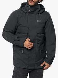 Jack Wolfskin Takamatsu 3 In 1 'S Waterproof Jacket Phantom