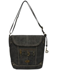 B.O.C. Tremont Large Hobo Charcoal